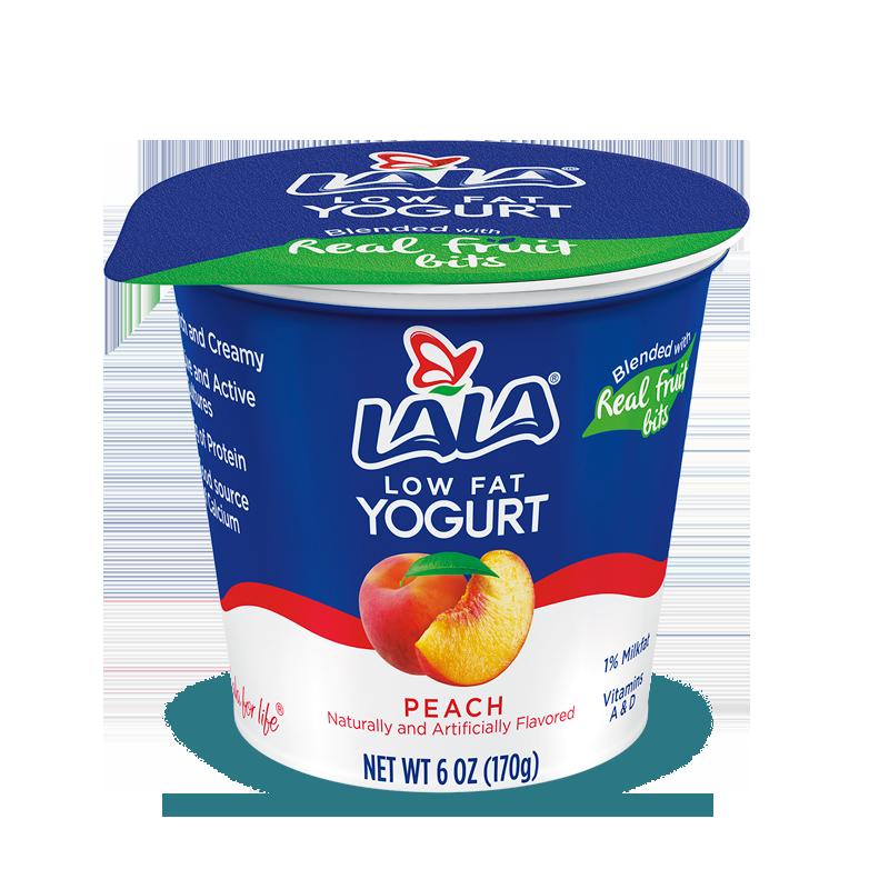 Peach LALA® Yogurt Blended