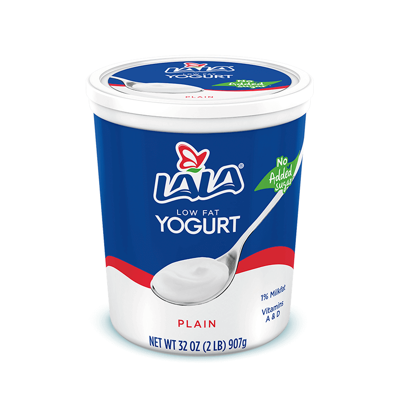 Plain LALA® Yogurt Blended
