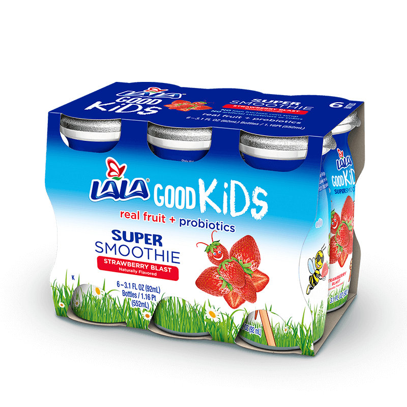 Strawberry Blast LALA® Good Kids® Super Smoothie