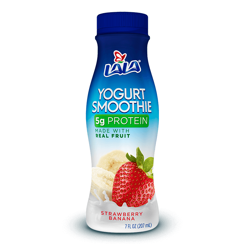 Yogurt Smoothie de Fresa Plátano LALA®