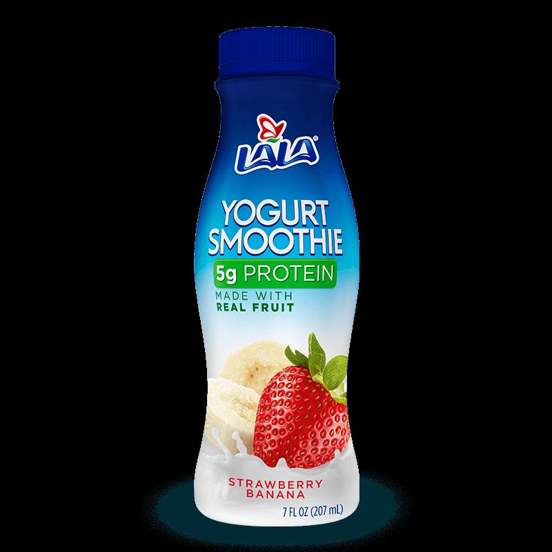 Strawberry Banana LALA® Yogurt Smoothie