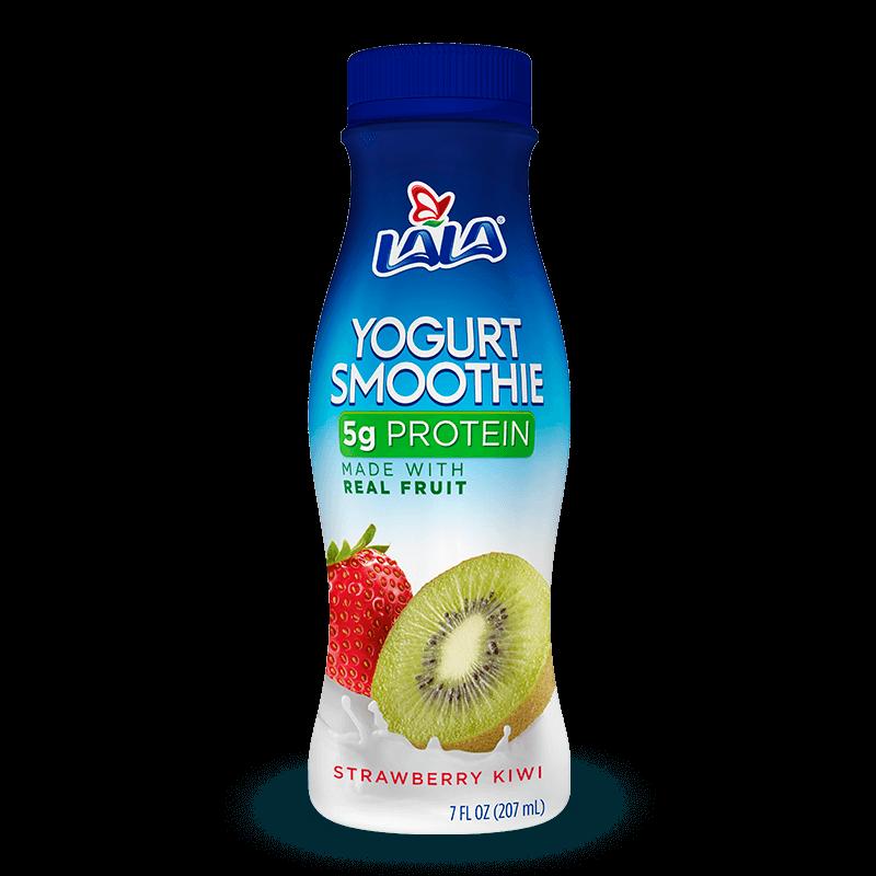 Strawberry Kiwi LALA® Yogurt Smoothie