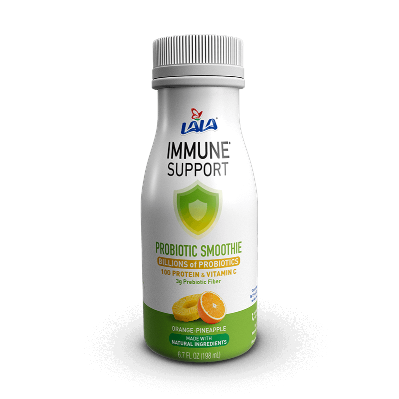 LALA® Probiotic Yogurt Smoothie Immune Support™ Orange Pineapple
