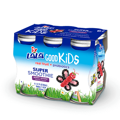 6 pack Berry Intenz LALA® Good Kids™ Super Smoothie  - LALA Foods