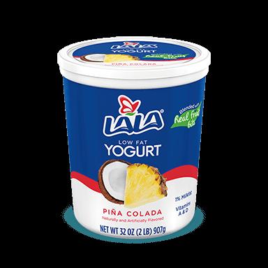 32 oz Piña Colada LALA® Yogurt Blended  - LALA Foods