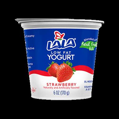 Strawberry LALA® Yogurt Blended