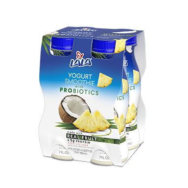 7 oz - 4 pack Pina Colada LALA® Yogurt Smoothie  - LALA Foods
